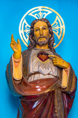 The Sacred Heart of Jesus, Catholic Image, Holguin, Cuba