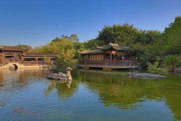 Lingnan Garden at hong kong