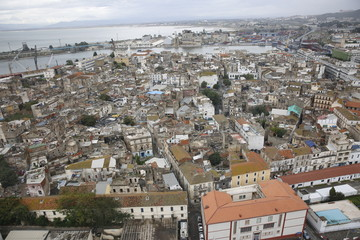 aerial view of Annaba, Algeria