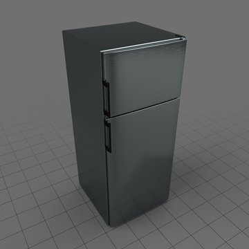 Top freezer refrigerator 1