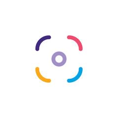 colorful gay pride camera photography application