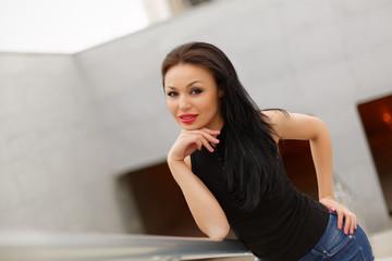 beautiful asian woman model