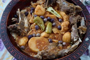 Traditional Algeria couscous
