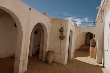 Desert architecture in Biskra, Algeria
