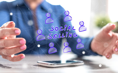 Concept of social selling