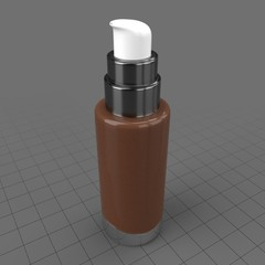 Tonal cream bottle