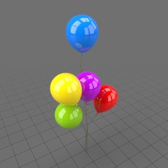 Colorful round shaped balloons 3