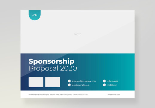 Business Event Proposal Layout