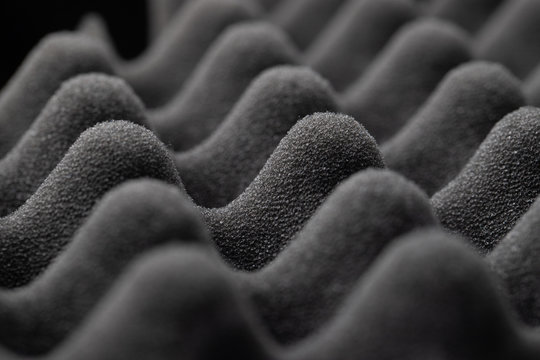 Studio sound proof foam pattern texture .