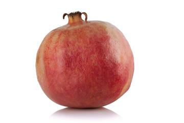 Ripe pomegranate fruit