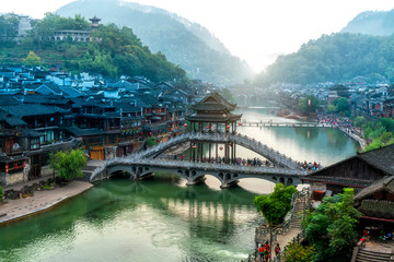 Phoenix Town, Hunan, China..