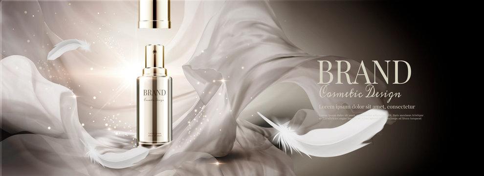 Skin care spray bottle ads