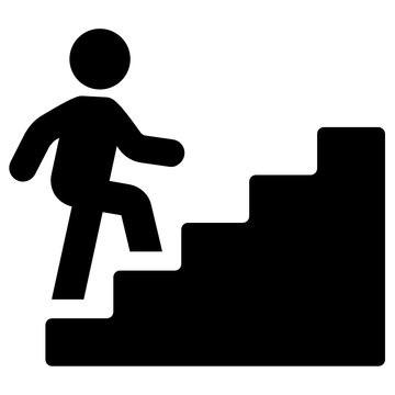 Stairs Vector Icon
