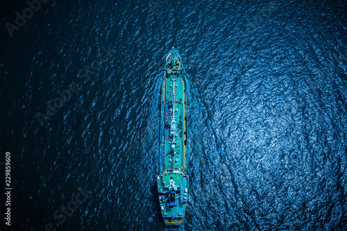 tanker oil and gas technology shipments business open sea