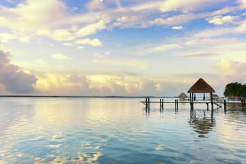 Dock at the lagoon