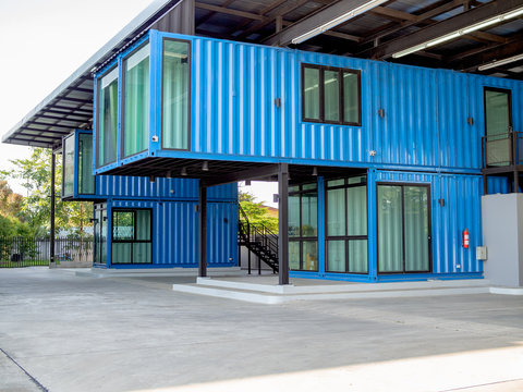 Cutting-edge container construction building