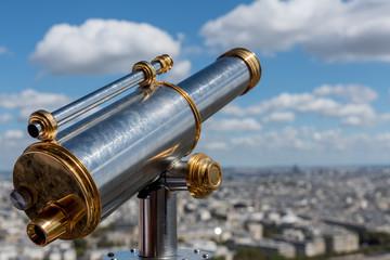 Aussicht vom Eiffelturm in Paris