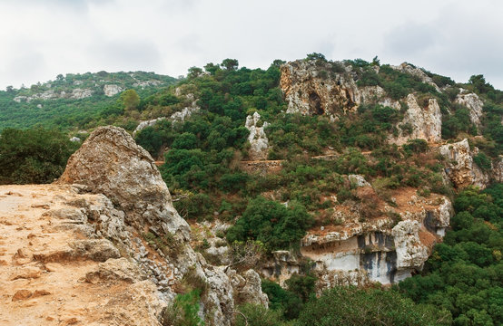 Panoramic view from Mount Carmel