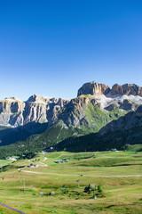 Dolomiti e Sass Pordoi