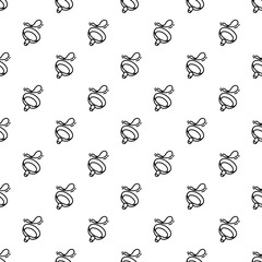 Fry pan pattern seamless repeat background for any web design
