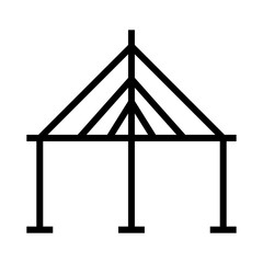 tent   camp   circus