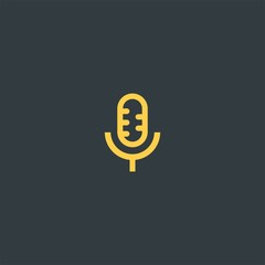 Microphone symbol design