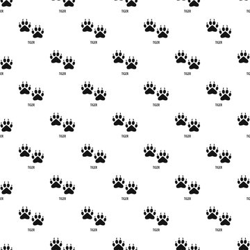 Tiger step pattern seamless vector repeat geometric for any web design