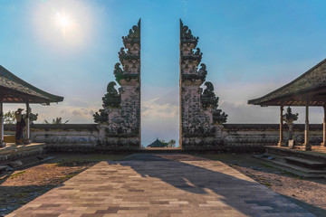 Foto op Aluminium Indonesië Pura Luhur or Lempuyang Temple in Bali, Indonesia
