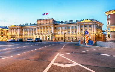 St. Petersburg Russia - Mariinsky Palace in old town