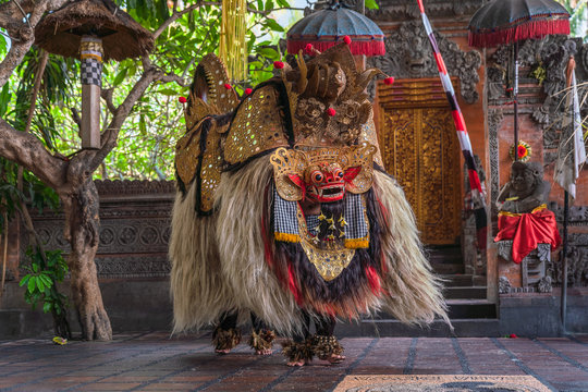 The Barong Dance of Bali Indonesia