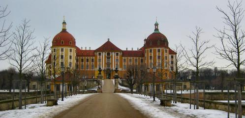 Schloss Moritzburg, sächsische Barockarchitektur