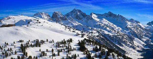 Sort Bonaigua port Lerida Catalonia ski resort