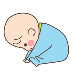 赤ちゃん 前屈