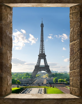 View from window of Paris