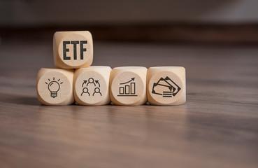 Würfel mit ETF