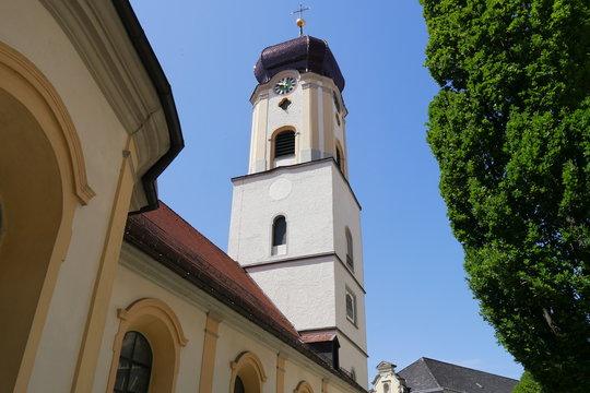Barocker Kirchturm Schlosskirche Sigmaringen