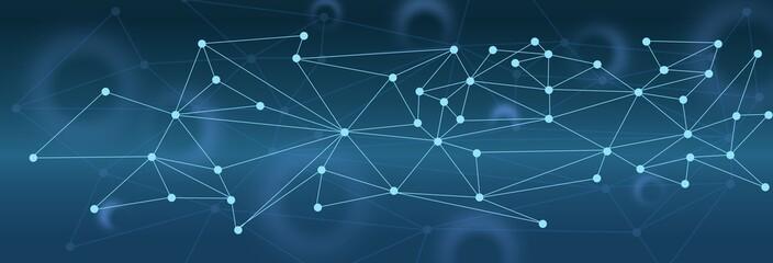sozial medien vernetzt futuristische grafik hintergrund