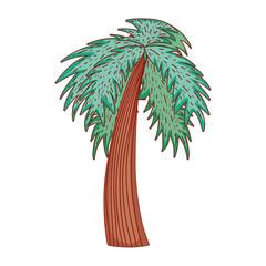 Tree nature cartoon
