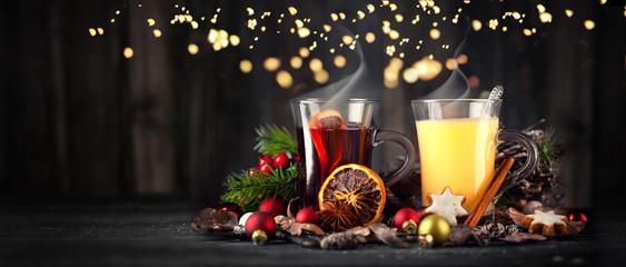 Eierpunsch und Glühwein zur Adventszeit