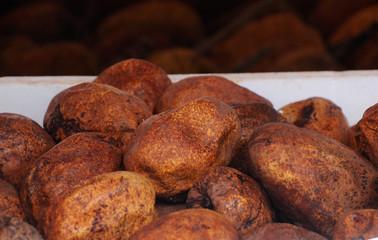 Binjai fruit is a exotic tropical fruit found in Malaysia. Scientific name is Mangifera caesia