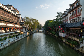 Chinese Old city scenery, tourist city