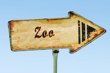 Schild 328 - Zoo