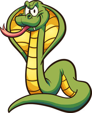 Cartoon cobra