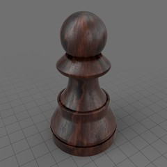 Pawn chess piece
