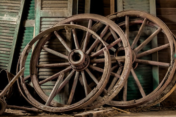 Shutters and Wagon Wheels