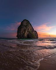 Sunset ,Pranang Beach