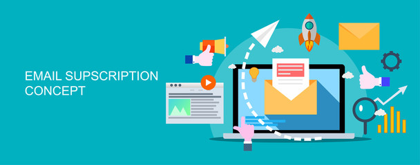 Email marketing campaign, newsletter marketing, drip marketing