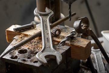 Workshop. Set of tools