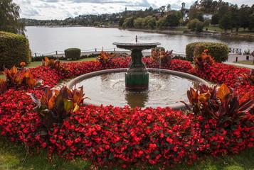 Stockholm,Sollentuna,fountain