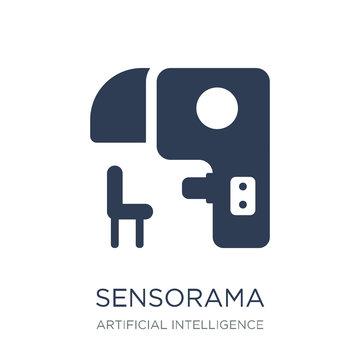 Sensorama icon. Trendy flat vector Sensorama icon on white backg